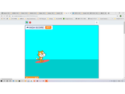Scratch 2D surfin ver.0.0.5